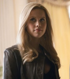 Claire Holt in The Vampire Diaries. Image © The CW Network