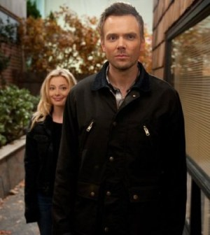 Gillian Jacobs as Britta, Joel McHale as Jeff Winger -- (Photo by: Colleen Hayes/NBC)