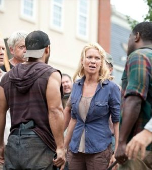 Laurie Holden as Andrea. Photo Credit: Gene Page/AMC