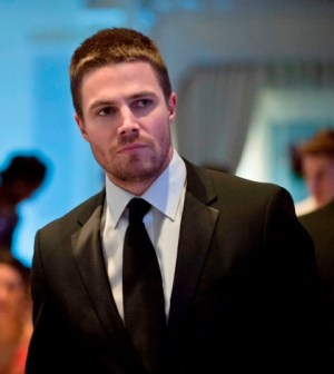 Stephen Amell as Oliver Queen. Image © CW Network