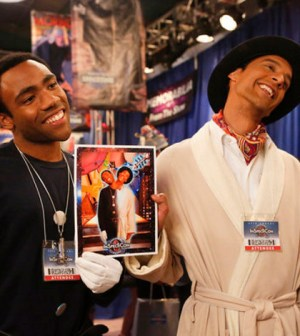 Donald Glover and Danny Pudi in Community (Image © NBC)