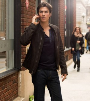 Ian Somerhalder as Damon Salvatore. Photo: Bob Mahoney/The CW — © 2013 The CW Network, LLC. All rights reserved.