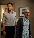 Joel McHale as Jeff Winger, Jim Rash as Dean Pelton -- (Photo by: Colleen Hayes/NBC)