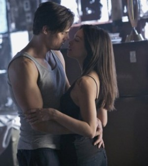 Jay Ryan and Kristin Kruek in the CW's Beauty and the Beast