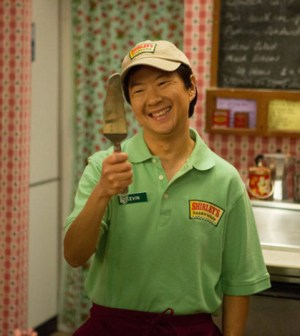 Chang doesn't remember the past three years--neither do the writers. (Image © NBC)
