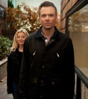 """When I say """"thera"""" you say """"pist"""". Gillian Jacobs and Joel McHale in Community (Image © NBC)"""