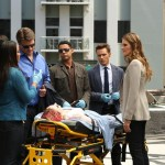 TAMALA JONES, NATHAN FILLION, JON HUERTAS, SEAMUS DEVER, STANA KATIC