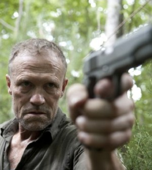 Michael Rooker as Merle in The Walking Dead. Photo by Gene Page/AMC