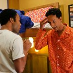 Donald Glover as Troy, Danny Pudi as Abed -- (Photo by: Vivian Zink/NBC)