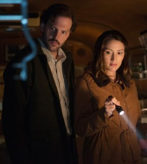 Silas Weir Mitchell and Bree Turner in NBC's Grimm