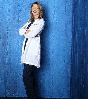 Ellen Pompeo in Grey's Anatomy. Image © ABC