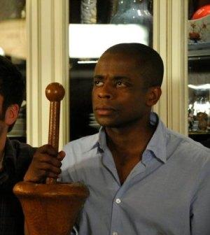 Dule Hill as Gus Guster -- (Photo by: Alan Zenuk/USA Network)