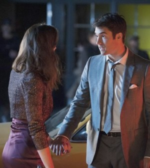 Christa B. Allen and Josh Bowman in Revenge's Season 2 Finale. Image © ABC