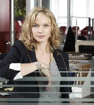 "ABC's ""Motive"" stars Kristin Lehman as Detective Angie Flynn. (ABC/Kharen Hill)"