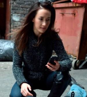 Maggie Q as Nikita. Image © CW Network