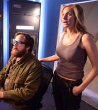 (l-r) Zak Orth as Aaron, Elizabeth Mitchell as Rachel Matheson -- (Photo by: Brownie Harris/NBC)
