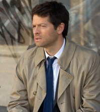 Misha Collins as Castiel. Image © CW Network