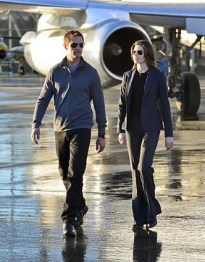 Josh Holloway and Meghan Ory in Intelligence. Image © CBS