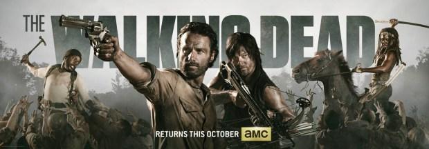 The Walking Dead Comic Con 2013 Banner. Image © AMC