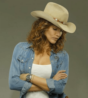 Tricia Helfer as Molly Parker in Killer Women. Image © ABC