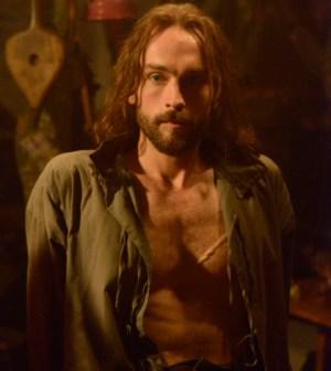Tom Mison as Ichabod Crane. Co. CR: Brownie Harris/FOX