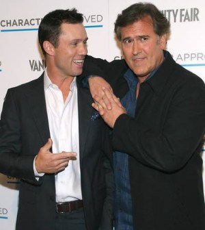 Pictured l-r : Jeffrey Donovan and Bruce Campbell. Photo Credit: Sylvain Gaboury / PR Photos