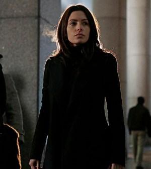 Sarah Shahi as Shaw. Image © CBS