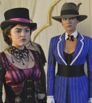 (ABC FAMILY/Eric McCandless) LUCY HALE, SHAY MITCHELL