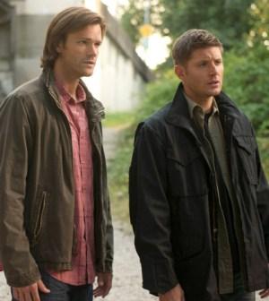Pictured (L-R): Jared Padalecki as Sam and Jensen Ackles as Dean -- Credit: Diyah Pera/The CW