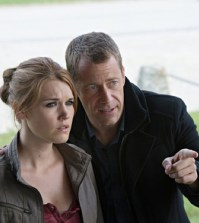 Pictured: (l-r) Emily Rose as Audrey Parker, Colin Ferguson as William -- (Photo by: Michael Tompkins/Syfy)