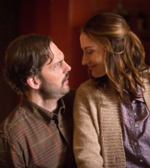(L-R) Silas Weir Mitchell as Monroe. Bree Turner as Rosalee.