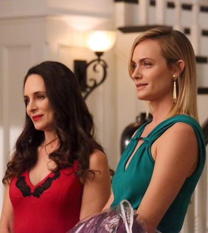 (ABC/Richard Cartwright) MADELEINE STOWE, AMBER VALLETTA