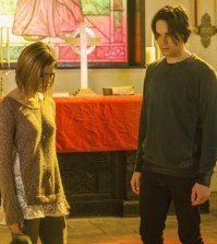 Pictured (L-R): Nicole Gale Anderson and Tyler Blackburn -- Photo: ABC Family/Skip Bolen