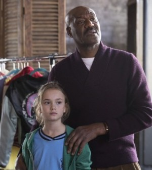 Pictured (L-R): Johnny Sequoyah as Bo, Delroy Lindo as Winter -- Photo by: Eric Liebowitz/NBC