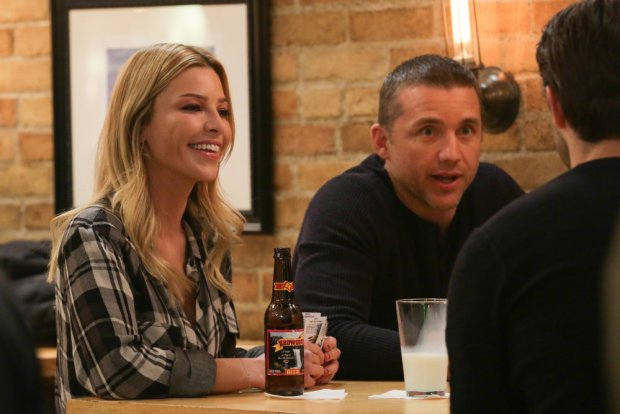 Pictured: (l-r) Lauren German as Leslie Shay, Jeff Hephner as Clarke -- (Photo by: Elizabeth Morris/NBC)