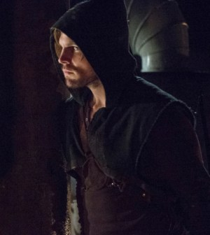 Stephen Amell as Oliver Queen -- Photo: Cate Cameron/The CW