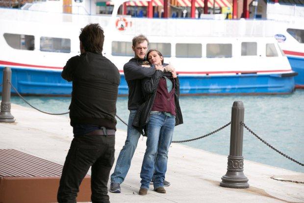 (l-r) Patrick Flueger as Adam Ruzek, Cliff Chamberlein as Neil Vance -- (Photo by: Elizabeth Sisson/NBC)