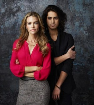 """Twisted"" stars Denise Richards as Karen and Avan Jogia as Danny. (ABC FAMILY/Andrew Eccles)"