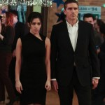 """Sarah Shahi and Jim Caviezel as Shaw and Reese in """"Person of Interest"""" Image © CBS"""