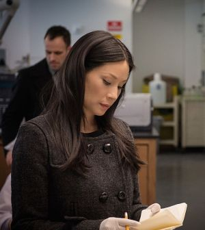 Lucy Liu as Joan Watson.  Photo: Jeff Neumann/CBS