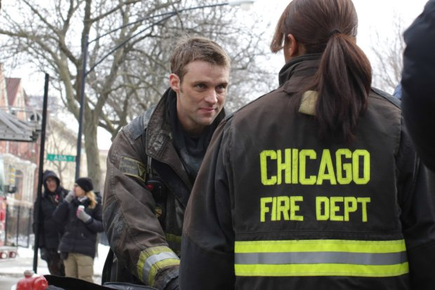 Pictured: (l-r) Jesse Spencer as Matthew Casey, Monica Raymund as Gabriela Dawson -- (Photo by: Elizabeth Morris/NBC)