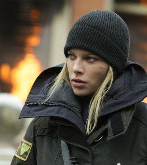 Pictured: Lauren German as Leslie Shay -- (Photo by: Elizabeth Morris/NBC)