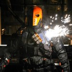 Pictured: Manu Bennett as Deathstroke -- Photo: Alan Zenuk/The CW