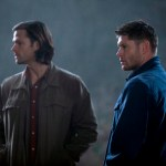 Pictured (L-R): Jared Padalecki as Sam and Jensen Ackles as Dean -- Credit: Katie Yu/The CW