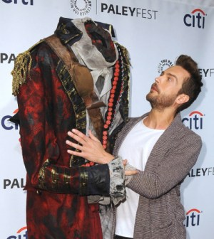 Tom Mison and The Headless Horseman at PaleyFest 2014. CR: Scott Kirkland/PictureGroup for FOX
