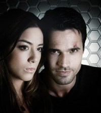 "Agents of S.H.I.E.L.D."" stars Chloe Bennet as Skye and Brett Dalton as Agent Grant Ward. (ABC/Justin Lubin)"