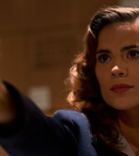 Hayley Atwell as Agent Carter. (Marvel/Katrin Marchinowski)