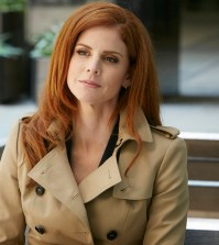 Sarah Rafferty as Donna Paulsen. (Photo by: Ian Watson/USA Network)