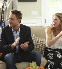 (ABC/Danny Feld) JUSTIN HARTLEY, JES MACALLAN