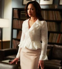 Pictured: Gina Torres as Jessica Pearson -- (Photo by: Shane Mahood/USA Network)